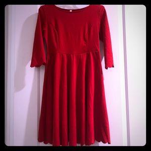 Pink Blush maternity size medium red dress